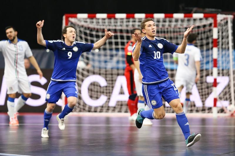 Сборная Казахстана вышла в полуфинал чемпионата Европы по футзалу  Сборная Казахстана вышла в полуфинал чемпионата Европы по футзалу подробный отчет