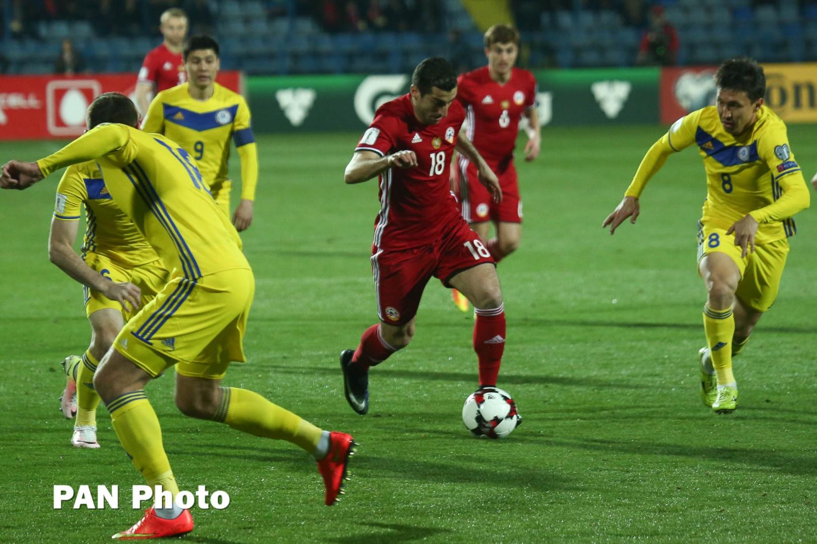 Отборочный мира 2018 турнир казахстан армения футбол чемпионат